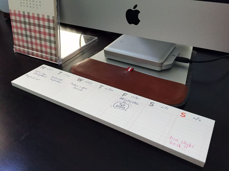 Weekly Calendar Sticky Notes : I d buy that weekly calendar sticky notes ringleader